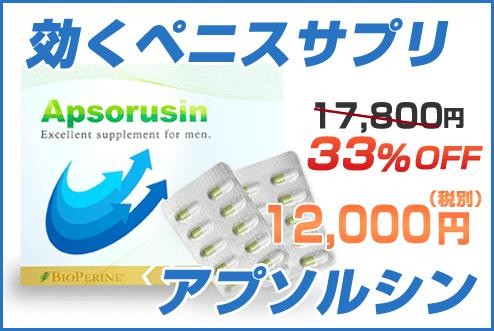 アプソルシン 12,000円