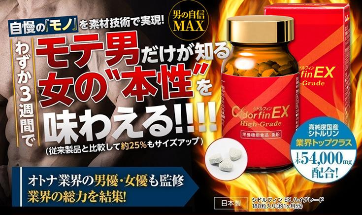 シドルフィンEX ペニス増大・精力剤